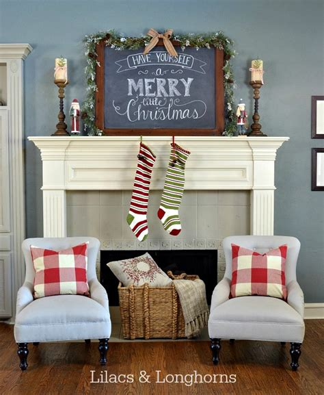 Rustic Kitchen Decorating Ideas christmas mantel inspiration at home with the barkers