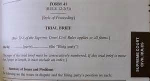 Trial Brief Template by Witness Excluded For Failing To Be Listed In Trial