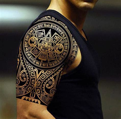 aztec tattoos cool aztec tribal tattoos ink idea for men