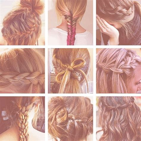 all kinds of hair style that have braides different types of braids hippiedreamerz hair pinterest