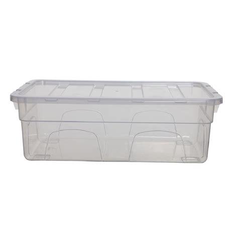 Storage Box 26 5x16x23 5cm Plastic buy 4 5lt 33cm spacemaster mini plastic shoe box with lid