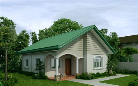 houses design mariedith 2 bedroom contemporary house plan pinoy