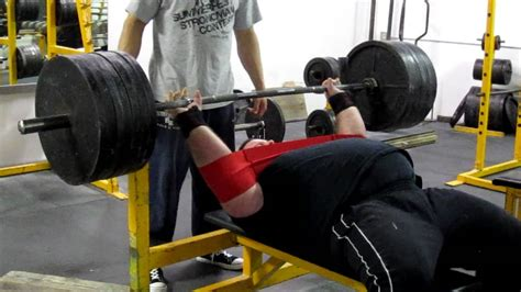 675 Lbs Bench Press With Slingshot Youtube