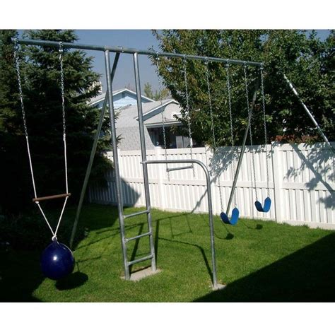metal swing sets component playgrounds grant metal swing set mt30