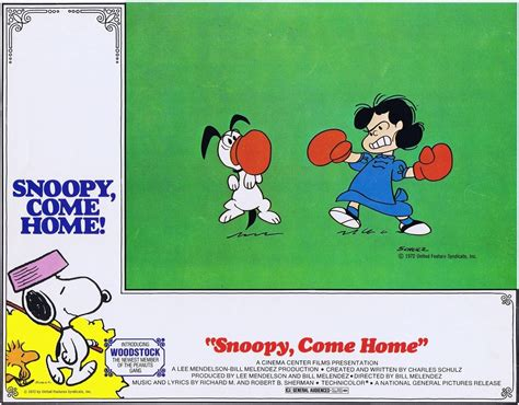 snoopy come home in ib technicolor 35mm at the new beverly
