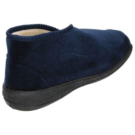 memory foam slipper boots dr keller memory foam velcro fleece cosy slippers boots