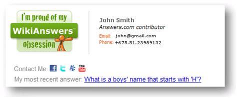 gmail signature template gmail signature format signature exle