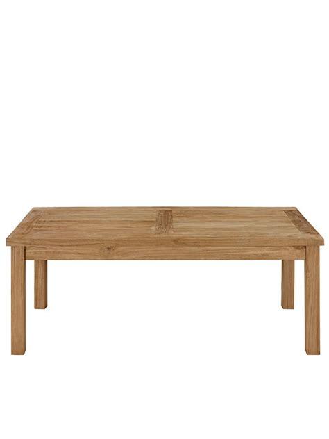 teak outdoor rectangular coffee table modern furniture