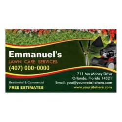 lawn care business cards landscaping lawn care mower business card template zazzle