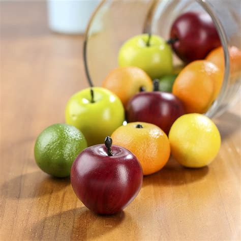 Fruit Vase Filler by Artificial Mixed Fruit Vase And Bowl Fillers Home Decor