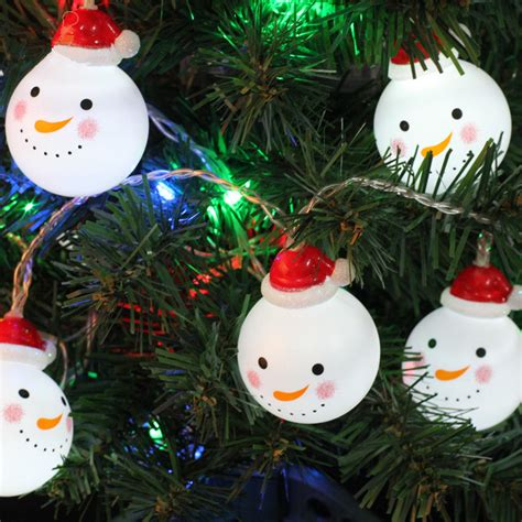 Popular Snowman String Lights Buy Cheap Snowman String Snowman String Lights