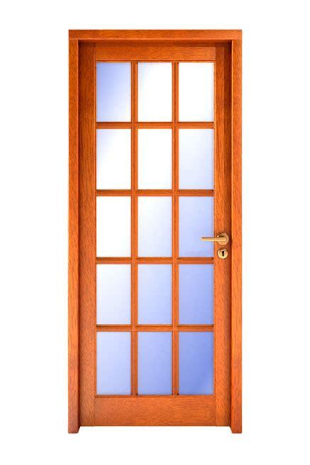 puertas de madera  vidrio repartido  interior