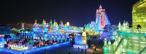 harbin ice festival harbin ice festival is a winter wonderland global travel