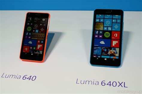 microsoft launches the lumia 640 and 640 xl in india microsoft lumia 640 and lumia 640xl launched in south