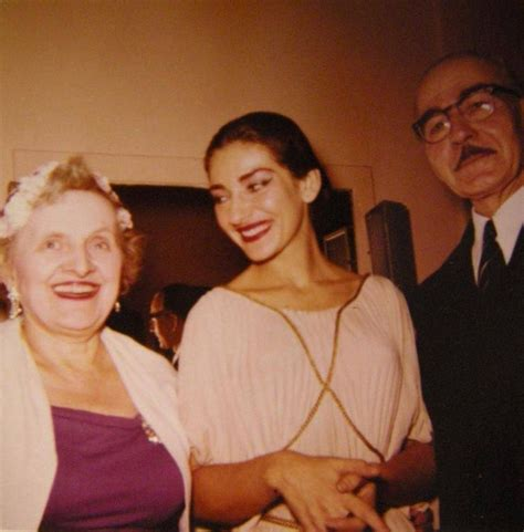 maria callas sister maria callas with her father and a friend after a