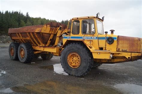 volvo rigid trucks volvo bm 861 rigid dumper rock truck from for sale