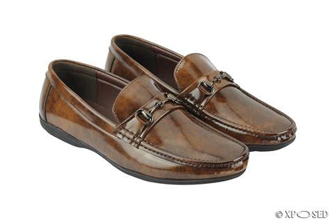 mens patent loafers mens vintage hi shine patent leather driving horsebit