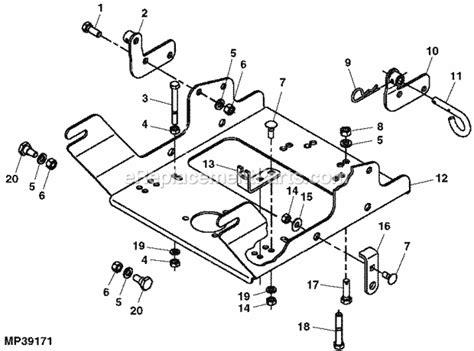 deere l111 parts diagram deere x320 48 deck belt diagram free engine