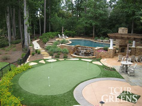 how to make a putting green in backyard backyard putting green 187 all for the garden house beach