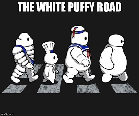 Stay Puft Marshmallow Man Meme - the beatles imgflip