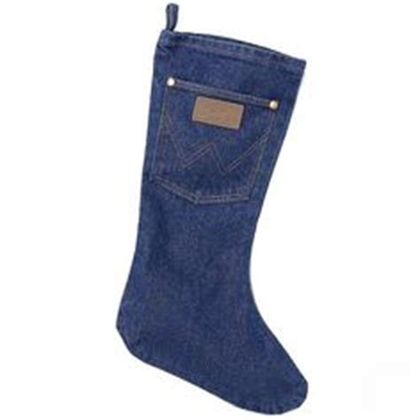 pattern for blue jean stocking western christmas stockings and tree skirts horse cowboy