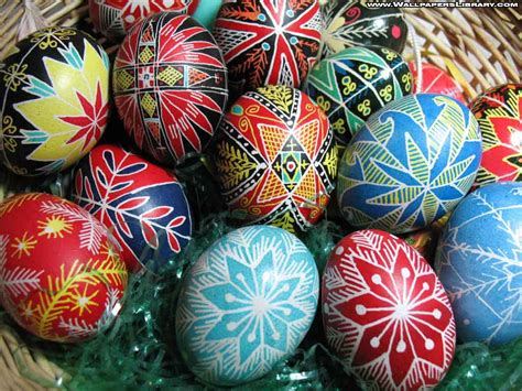 easter eggs basket wallpaper hd imagebank biz