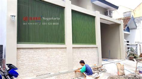 Ram Pintu Aluminium progress pemasangan pagar besi minimalis dan kusen jendela