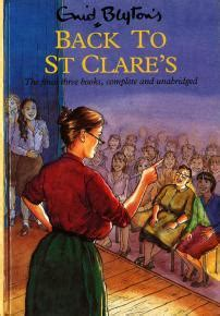 Claudine Di St Clare New Cover back to st clare s second form at st clare s claudine at st clare s fifth formers of st