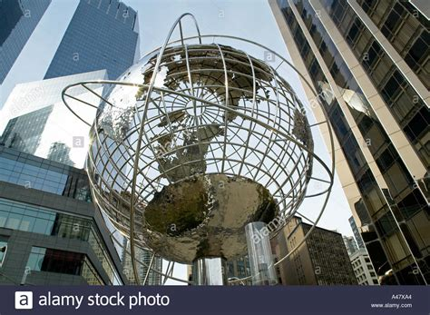 trump tower gold pan up stock video footage 9571267 globe sculpture between trump tower at right and time