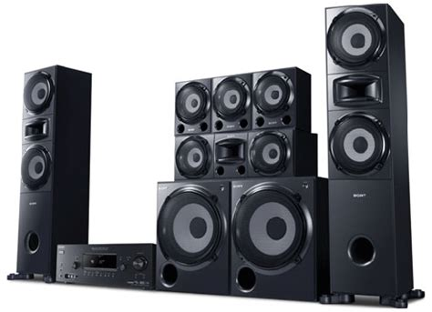 Audio Home Theater Sony other home audio sony 6 2 surround sound home theater system speakers was sold