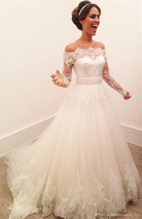 The Shoulder Wedding Dress by Wedding Dresses With The Shoulder Sleeves Wedding Ideas