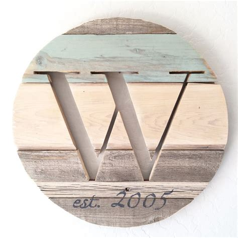 Diy Craft Projects For Home Decor custom reclaimed wood monogram by avaberrylane com abl