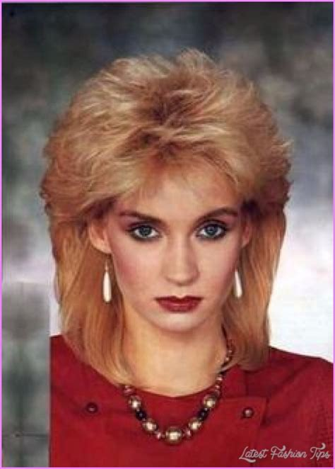 1980s shag hairstyle 1980s hairstyles for women latestfashiontips com