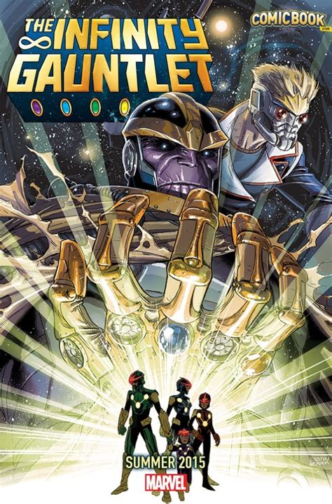 the infinity gaunlet exclusive marvel teases infinity gauntlet in summer 2015