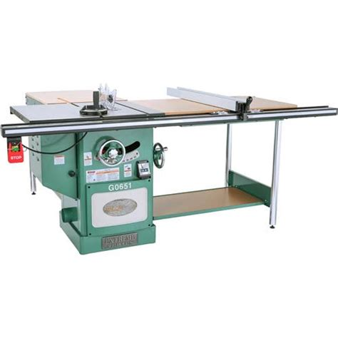 cabinet saw for sale 10 quot heavy duty cabinet table saw with riving knife grizzly industrial