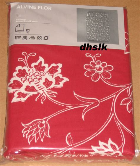 ikea red and white bedding ikea alvine flor white duvet cover set floral modern bold