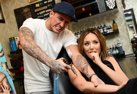tattoo of us charlotte and bear charlotte crosby reveals she s glad she made soul mate