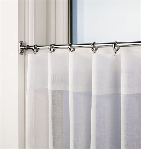where to mount curtain rods inside mount cafe curtain rods curtain for bathroom