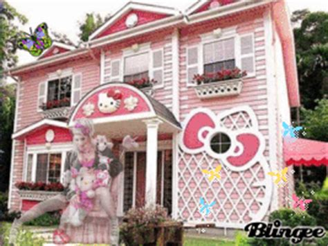 hello kitty houses hello kitty house picture 131481703 blingee com