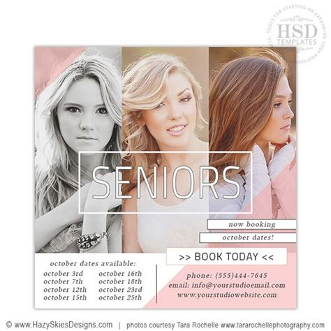 73 Best Images About Senior Marketing Templates Graduation Announcement Templates For Free Photography Marketing Templates