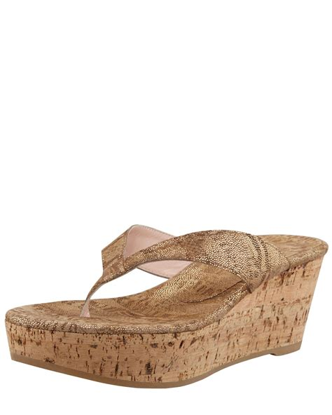 cork wedge sandal prada cork wedge sandal for wacoz