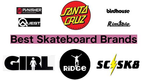 Quality Brands by 15 Best Skateboard Brands Compare Save 2018 Heavy