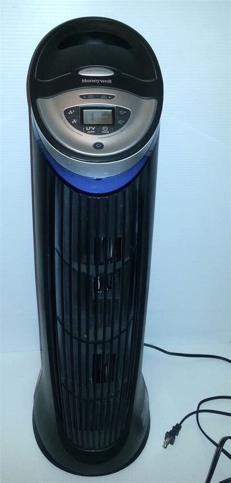 honeywell hht 219 hepa air purifier cleaner tower w permanent filter works great ebay
