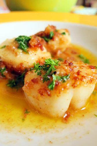scallops in lemon butter recipe fresh frozen scallop