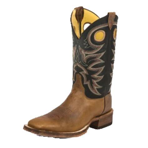 justin cowboy boots justin bent rail tobacco cowhide cowboy boots