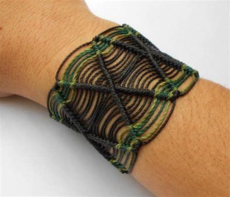 macrame pulseira pulseira em macram 234 unissex no elo7 kaviah 1a98b8