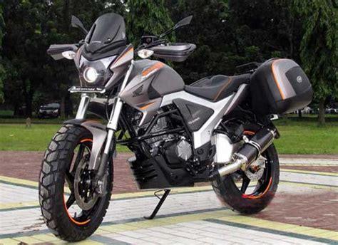 Modifikasi Setang Megapro Fi Memakai Setang by Honda Megapro Fi Adventure Semakin