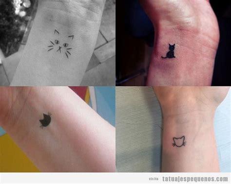 imagenes de tatuajes de gatos para mujeres tatuajes peque 241 os ideas de tatuajes peque 241 os para chicos