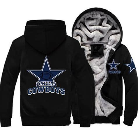 Jacket Jipper Hoodie 20 free shipping usa size foot cowboys zipper jacket sweatshirts thicken hoodie coat