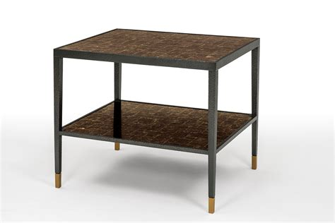 hammered bronze table l side table in mica hammered bronze